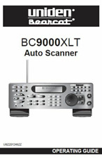 Uniden BC 9000 XLT Bearcat Police Scanner Radio Manual