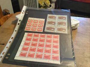 Hungary Used Stamps X 3 Blocks