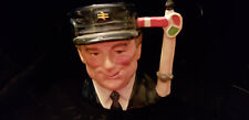 Engine Driver Royal Doulton Character Toby Jug D6823 Journey Through Britain