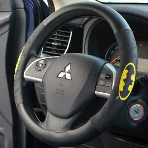 Batman Leather Grip Steering Wheel Cover Official DC Comics Universal Fit @@@