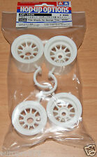 Tamiya 54526 F104 Wheels (for Sponge Tires/Tyres/White) (F104X1/F104V.2), NIP