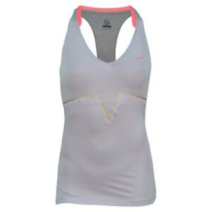Nike Women's Maria Ace Tank Provence Purple/Solar Red 425911-550 Size M