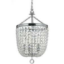 Crystorama Archer 5 Light Crystal Polished Chrome Chandelier - 785-CH-CL-MWP