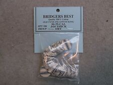 """Bridgers Best Dry Pillow Ticking Patches 30-39 Caliber .018"""" Thick Stk# 3018-P"""