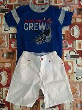 lotto 603 stock abbigliamento maglietta pantaloncino bimbo bambino 4/5 anni
