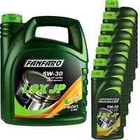 11 Liter Orignal FANFARO LSX JP 5W-30 API SN/CF Motoröl Engine Oil Öl 11192063