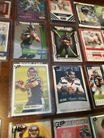 Seattle Seahawks lot Russell Wilson RCs Largent, autos game used inserts Ref RCs