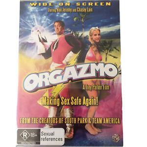 Orgazmo (DVD, 2005) Region 4 Comedy Ron JEREMY Chasey LAIN Trey Parker