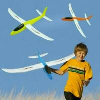 Foam Hand Throw Airplane Aircraft EPP Model Glider Plane Model Kids Toys Gi Z1L1