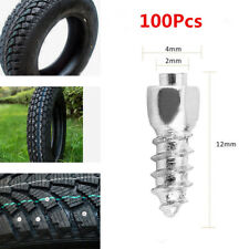 100Pcs 12mm Screw in Tire Stud Snow Trim Wheel Tyres For Car Truck ATV UTV 4X4