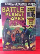 1973 BATTLE FOR PLANET OF THE APES -BOOK AND RECORD Mint