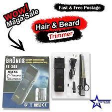 Browns FS365 Mens Head Shaver Beard Hair Trimmer Cutting Expert Corded Cordless