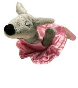 Kangaroo Ballerina Dancer Pink Tutu Ballet Soft Plush Stuffed Animal Toy 19cm