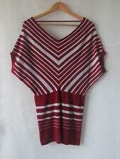 Moment sz 14 Stripe Knit Top