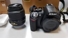 NIKON D3100 NITAL + OBIETTIVO AF-S DX 18-55 f/3.5-5.6G EDII + SD LEXAR 4Gb