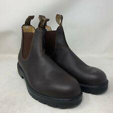 Blundstone Men Classics 550 Chelsea Boot Walnut Brown 9.0 #550 MIX-006