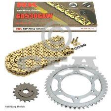 KIT DE CADENA SUZUKI GSX 1300 B-King 08-12 CADENA RK GB 530GXW 118 Abierto Oro 1