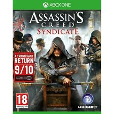 Assassin's creed syndicate XBOX One game-neuf!