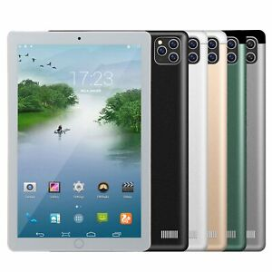 """NEW 10.1 """"WiFi Tablet Android8.1 Pad 8/10G+512GB 10 Core Tablet GPS Dual Camera"""