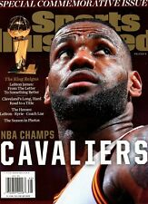 Sports Illustrated Magazine 2016 LeBron James NBA Champions CLEVELAND CAVALIERS