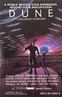 DUNE: A Recorded Interview Cassette Tape Frank Herbert RARE David Lynch 1984