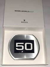 Rolex Baselworld 2017 paperweight 50 anniversary Sea Dweller loupe cyclops RARE