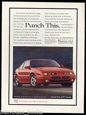1996 PONTIAC GRAND PRIX advertisement, red 2-door GP
