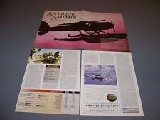 Vintage.Cessna 165 Airmaster Amphibian. History/Specs/Photos .Rare! (175H)