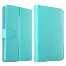 Fundas y carcasas Universal color principal azul de piel para teléfonos móviles y PDAs