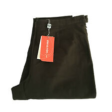 ELENA MIRO' pantalones de mujer de invierno marrón oscuro con elástico vita disp