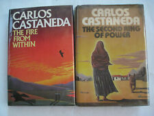 Carlos Castaneda Lot - 4 US HC 1st/1st Art of Dreaming, Active Side Infinity +2