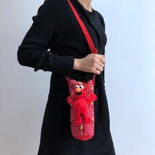 Sesame street elmo keep warm Water bottle pocket Canteen Cover drawstring bag