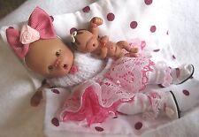 "Ooak baby girl , Emily Anne, 4.75"" jointed full sculpt, Artist Original Sculpt"