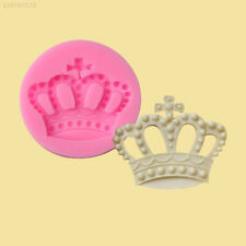 Crown Shape Fondant Cake Mold DIY Mould Silicone Chocolate Candy Baking Tool
