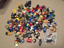 100 Non Lego Minifigures Megablok Heroes Star Wars Army minifig lot P458