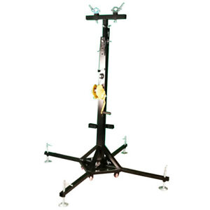 New 19Ft Heavy Duty Tower Lifter Crank Lighting DJ Concert Stand Free Shipping