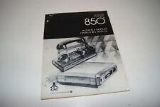 "ATARI 850: original ""Interface Module Operator's Manual"", 1980 Vintage computing"