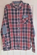 Men's Cedar Wood Primary Long Sleeved Checked Shirt