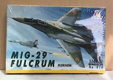 Italeri Mig-29 Fulcrum Ref 874 Model Kit Escala 1:144, Nuevo