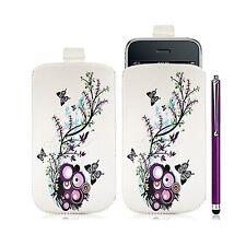 coque étui pochette pour Apple Iphone 3G/3GS avec motif HF01 + Stylet luxe