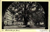 Mont Ste. Odile Odilienberg Elsass AK 1941 Park Baum Bäume CPA Grande Cour Hof
