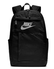 """Nike Elemental LBR 2.0 Backpack Unisex 19"""" Bag Black & White (BA5878-010) NWT"""