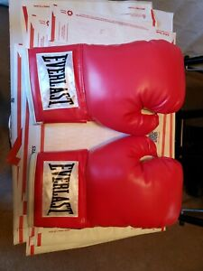 Everlast Advanced Boxing / training gloves RED - 14 oz. New without box