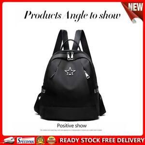 Women Casual Backpack Student Star Schoolbags Travel Waterproof Knapsack