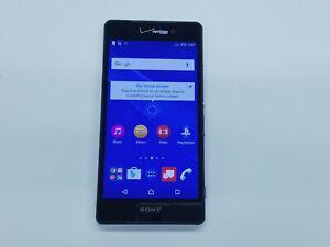 Sony Xperia Z3V (D6708) 32GB - Black (Verizon) Smartphone Clean IMEI 54087