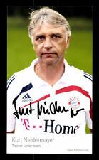 Kurt Niedermayer Autogrammkarte Bayern München 2009-10 Original Signiert +C 257