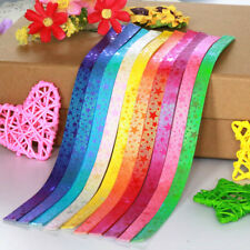90 pieces, 10 color comb with star pattern ORIGAMI LUCKY Stars -4 creative hands