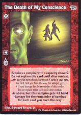4 x The Death of My Conscience VTES CCG Mixed