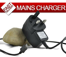 BLACK CE APPROVED MICRO USB MAINS PHONE CHARGER FOR VARIOUS MOBILE PHONES