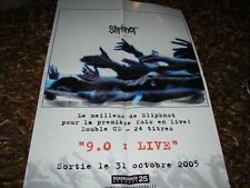 SLIPKNOT 9.0:LIVE!!!!!!!!!!RARE FRENCH PRESS/KIT/POSTER
